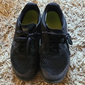 Nike size 4 tennis shoes worn inside only
